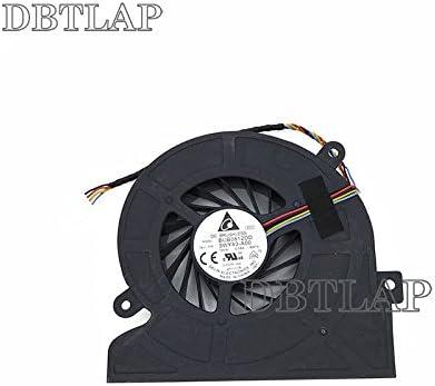 DBTLAP Ventilador de la CPU del Ordenador portátil para DELL Inspiron One 2320 Ventilador para BUB0812DD BASB1120R2U 03WY43 3WY43 Ventilador All in One 4PIN: Amazon.es: Electrónica
