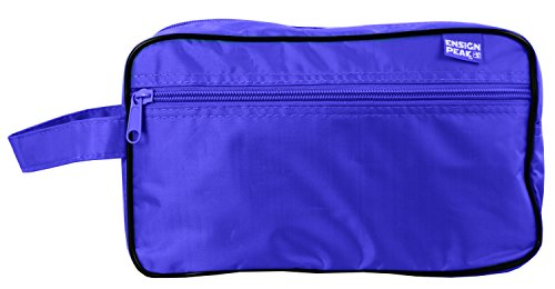 Ensign Peak Toiletry Travel / Shaving Bag, Royal