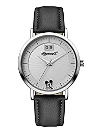 Ingersoll Women's Automatic Metal and Leather Casual Watch, Color:Black (Model: ID00501)