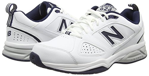 Homme 624v4 White Blanc de Fitness New Balance 115 Navy Chaussures xHwX6