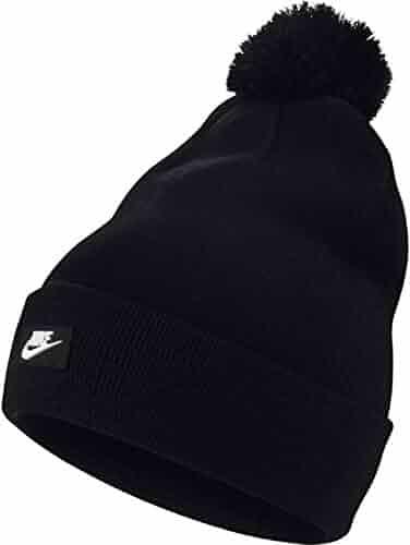 designer fashion 1d67c 5dd79 NIKE Sportswear Unisex Removable Pom Knit Beanie Hat
