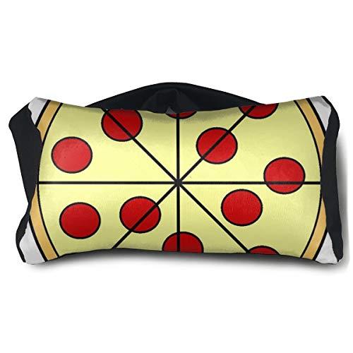 Eye Pillow Pizza Cartoon Clip Art Amazing Eye Bag Mask Mens Portable Blindfold Train Sleep Protection