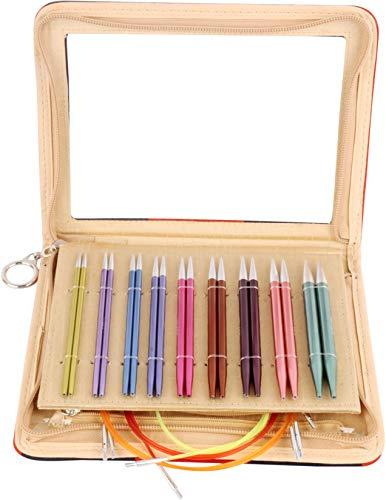 (Knitter's Pride KP140301 Zing Deluxe Interchangeable Needles Set, Multi)