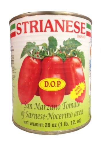 (Strianese San Marzano Tomatoes, DOP, 28 oz (Pack of 3))