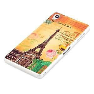 deinPhone Sony Xperia Z3 de silicona de la torre Eiffel