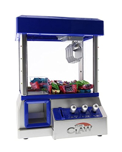 The Toy Grabber Claw Machine For Kids - Electronic Arcade-Style Game for Kids and Parties - Ideal For Use With Small Toys / Candy - Features LED Lights and Loud Sound Effects, 13.5 x 10 x 7.5 inches