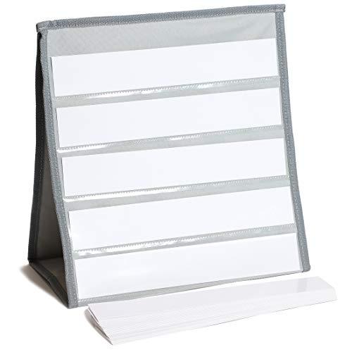 Juvale - Tabla de bolsillo de escritorio para aula, 30,5 x 16,5 x 31,75 cm