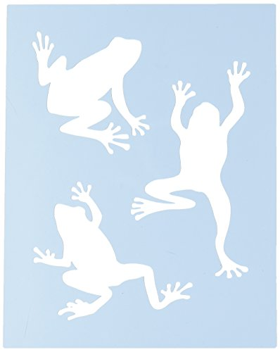 Faux Like a Pro Frog Stencil, 5.5 by 7-Inch, Single ()