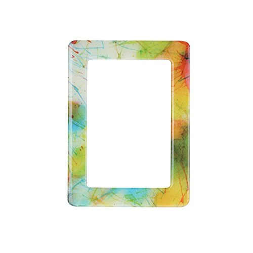 - Yeefant Colorful Magnetic PVC Picture Collage Frame Photo Magnets Photoframe Refrigerator,4.7x6.3 Inch