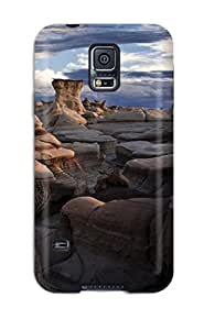 CaseyKBrown Design High Quality Bisti Badlands New Mexico Cover Case With Excellent Style For Galaxy S5