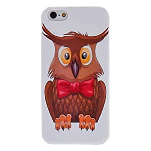 Muzzy Owl Pattern Hard Case for iPhone 5/5S