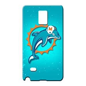 samsung note 4 Heavy-duty Colorful Hot Fashion Design Cases Covers cell phone carrying shells miami dolphins nfl football