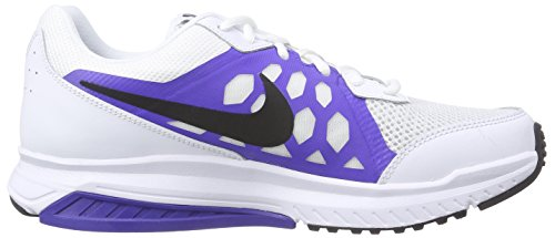 Nike Dart 11 - Sneaker per herren Weiß (White/Black-Prsn Violet-White 101)