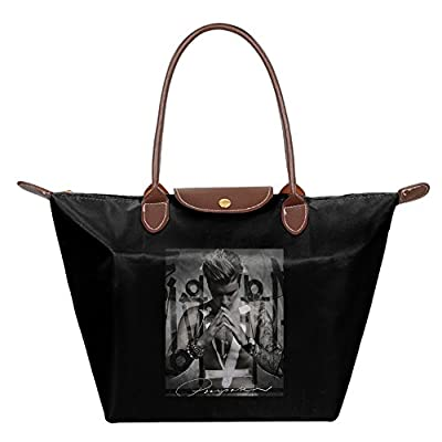 Justin Bieber Foldable Large Tote Bags Shopping