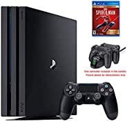 2020 Newest Playstation 4 Pro PS4 Pro 1TB Console International Edition, Marvel Spider-Man Game of The Year Ed