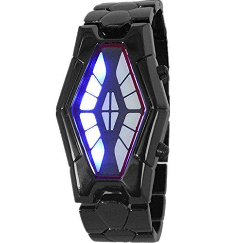 OSS®LED Moda Watch / contrabandistas relojes retro masculinos para hombres-Negro: Amazon.es: Relojes