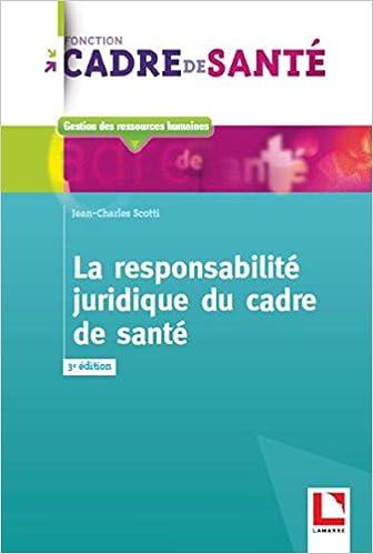 responsabilité juridique cadre