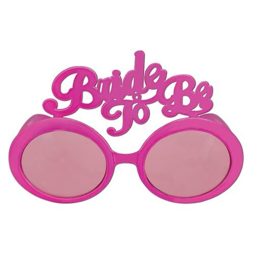 Bride To Be Fanci-Frames Party Accessory (1 count) - Childs Sunglasses Amy