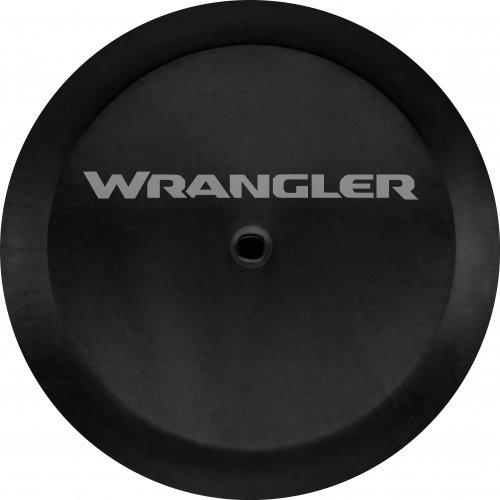 Mopar 82215444AB Wrangler Logo Cloth Spare Tire Cover Jeep Wrangler