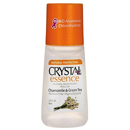 Crystal Deodorant Essence Roll-On 2.25 Ounce Chamomile/Green Tea (66ml)