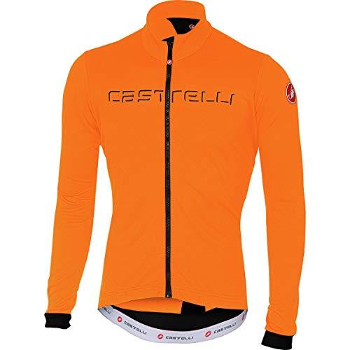 Castelli Fondo Full-Zip Long-Sleeve Jersey - Men s Orange Light Black 0c3a081eb