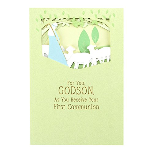 First Communion - Inspirational Boxed Cards - Godson