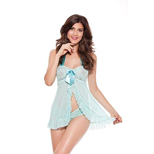 LENSTAR SU90059C1 Net Yarn Women Sexy Lingerie - Size XL