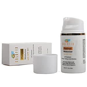 Retinol + Moisturizer + SPF 50+ All in One Cream. Sun Protection with Natural Ingredients to Help Reduces Appearance of Fine Lines, 50 ml. Best Choice