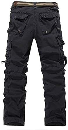 Black Cargo Leggings Pant For Men