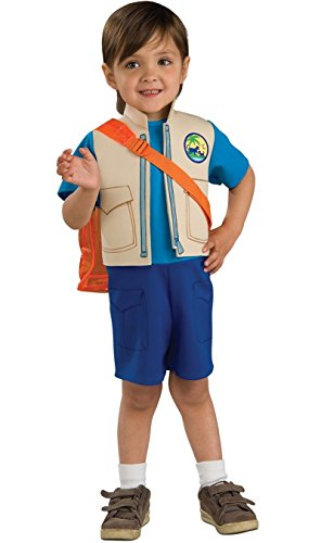 883133 Size 4-6 Small Boys Diego Costume