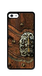 TUTU158600 Customized Dual-Protective iphone 5c case for girls 3d - Retro door