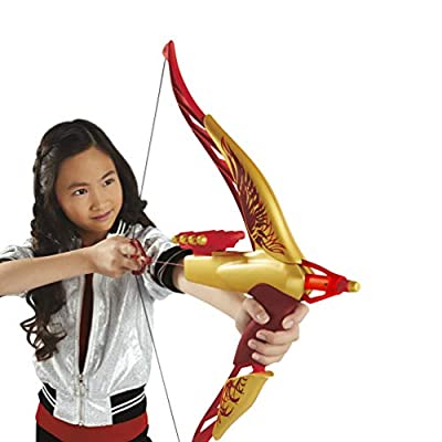 Disney Mulan Warrior Bow with 8 Foam Darts and Real Bow Action, Inspired by Disney's Mulan Movie, Toy for Kids 8 Years Old and up: Toys & Games