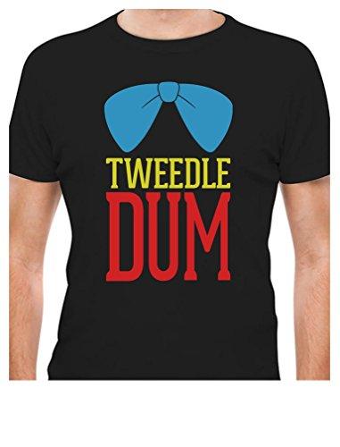 Tweedle Dum - Funny Matching Couples Gift Men's T-Shirt XX-Large Black