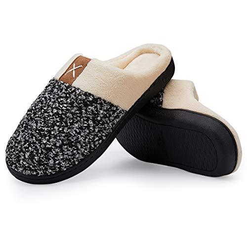 Pantofole Vifuur bianco Donna Donna Nero Vifuur bianco Nero Pantofole Donna Vifuur Pantofole PPrO4f