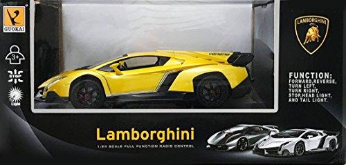 1 24 Rc Car Lamborghini Veneno Gold 866 2425 G Radio Control Car