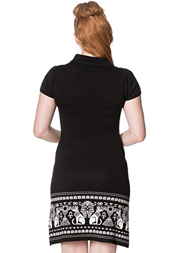 Apparel Para Negro Mujer Vestido Banned O7qZTdq