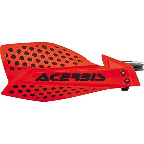 Acerbis 7/8 or 1 1/8 X-Ultimate MX Motocross ATV Handguards Red/Black (Acerbis Atv)