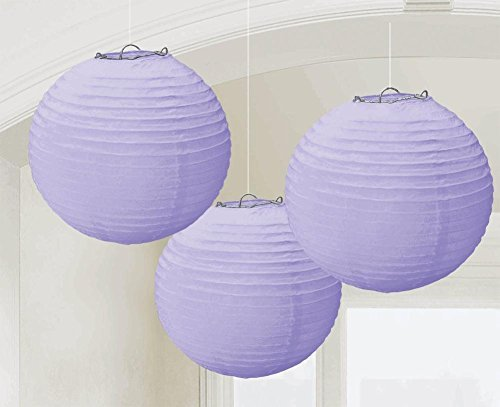 Lilac Paper Lanterns | Wedding and Engagement Party