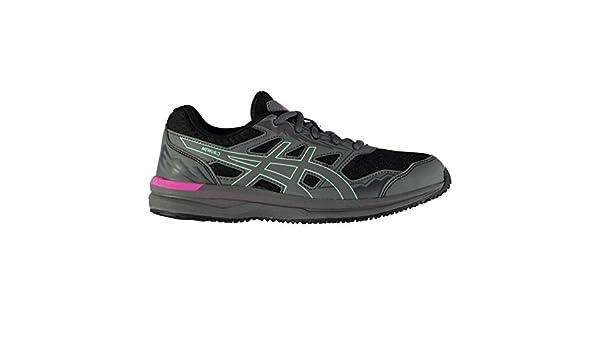 ASICS MEMURO® 2 - Zapatillas de Running para Mujer (T76PQ), Dark Grey/Carbon/Glacier Sea, UK 8 / EU 42 / US 10 / CM 26.5: Amazon.es: Deportes y aire libre