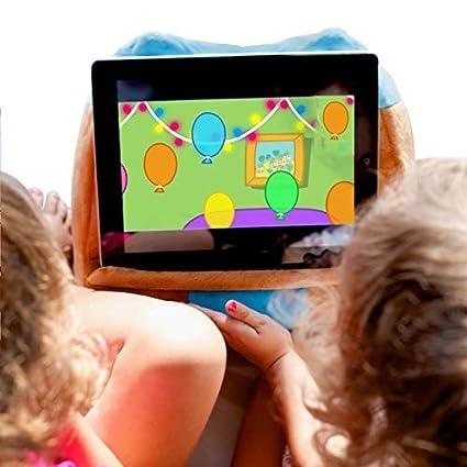 Cuddly Reader Cojín Soporte para Tablet | Almohada de Apoyo Libro | Reposa Book Holder | iPad Lectura Owliver