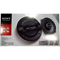 Sony XS-GTF1638 6-1/2-Inch 3-Way 260W Speaker System - Set of 2 (Black)