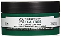 The Body Shop Tea Tree Face Mask, Made with Tea Tree Oil, 100% Vegan, 3.85 oz