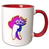 Pretty Girl in Purple and Blue wearing hat with Flowers Mug is available in both 11 oz and 15 oz. Why drink out of an ordinary mug when a custom printed mug is so much cooler? This ceramic mug is lead free, microwave safe and FDA approved. Image is p...