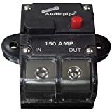 Audiopipe Cb150ap 150 Amp In Line Circuit Breaker