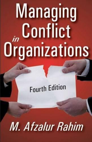 Top managing conflict in organizations