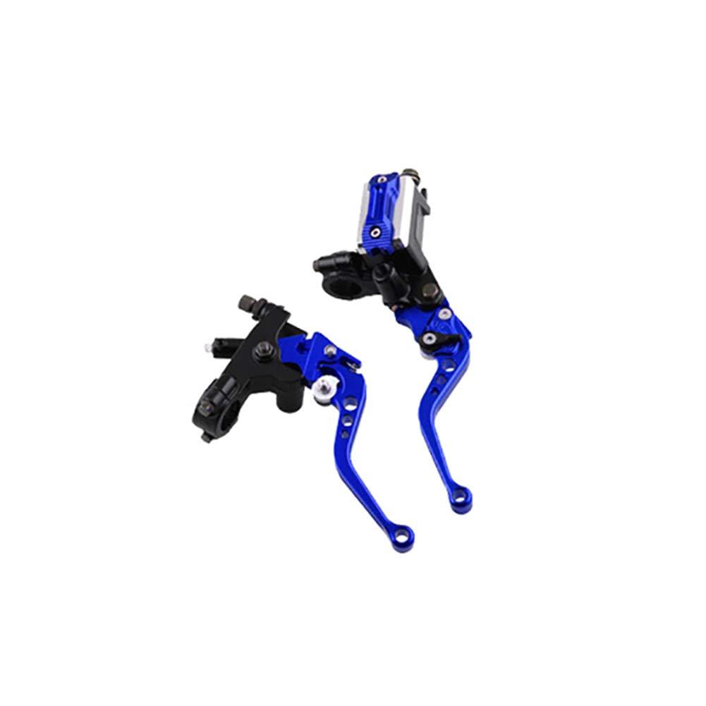 rosso, nero, blu, oro, argento, verde Una coppia di 22 mm 7//8CNC universale per moto leva freno a frizione in alluminio per motocicli