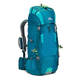High Sierra Lightning 35 Female Pack, Sea/Tropic Teal/Zest