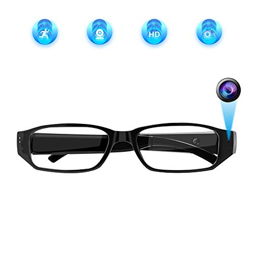 Aisoul Hidden Camera Eyeglasses Loop Video Recorder Fashion Spy Camera Security Cam