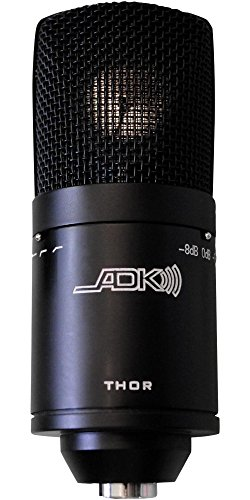 Overhead Stereo Assembly - ADK Microphones THOR Multi-Pattern Condenser Microphone