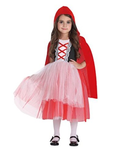 Dept 18 Toddler Girls Little Red Riding Hood Tutu Dress Costume, (Kids Red Riding Hood Tutu Costumes)